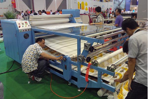 Automatic Roller Heat Transfer Machine , Rotary Heat Transfer Machine