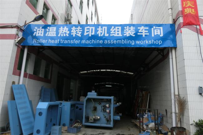 Heavy Duty Roller Industrial Heat Press machine With CE Approval