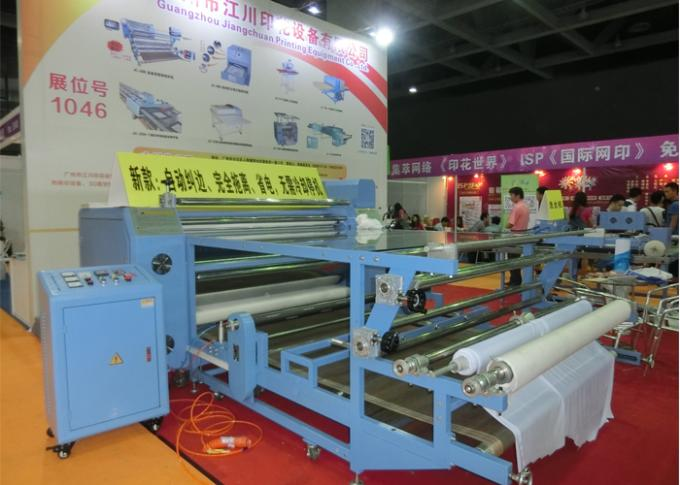 Roll To Roll T Shirt Sublimation Printing Equipment Garment Press