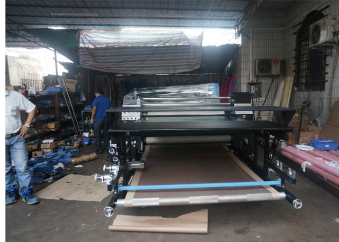 Roll to Roller Heat Transfer Machine , Dye Sublimation Machine