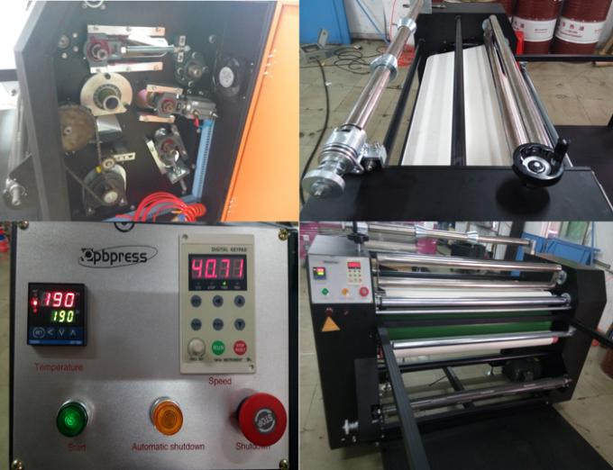 Electricity Roll To Roll Heat Press Machine Manual Sublimation Heat Press Machine
