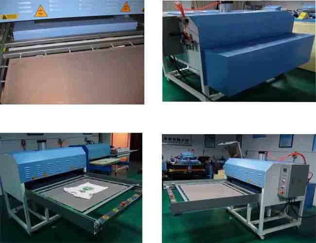 Double Working Position Automatic Heat Press Machine Textile Printing Machine