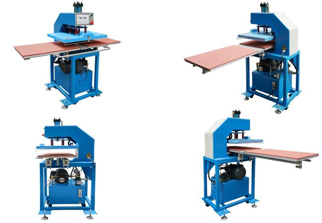 Semi Automatic T Shirt Glass Sublimation Heat Press Machine Hydraulic Printing