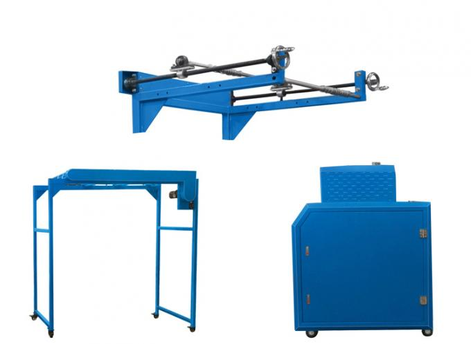 High Speed Rotary Oil Roller Heat Transfer Machine For Lanyard Printing