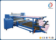 China Double Layer Drum Rotary Heat Transfer Press Sublimation Machine For Fabric distributor