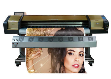 China Paper Dye Sublimation Printers High Resolution Double Head 3220dpion sales