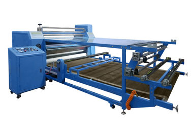 China High Pressure Rotary Heat Transfer Machine For Garment , Roll To Rollon sales