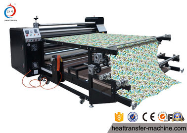China Sturdy Structure 6 Feet Roller Heat Transfer Printing For Sublimation Soccer Uniformson sales